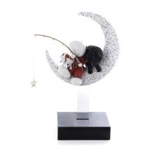 Doug Hyde - Catch a Falling Star - sculpture