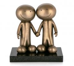Doug Hyde - Hand in Hand - sculpture