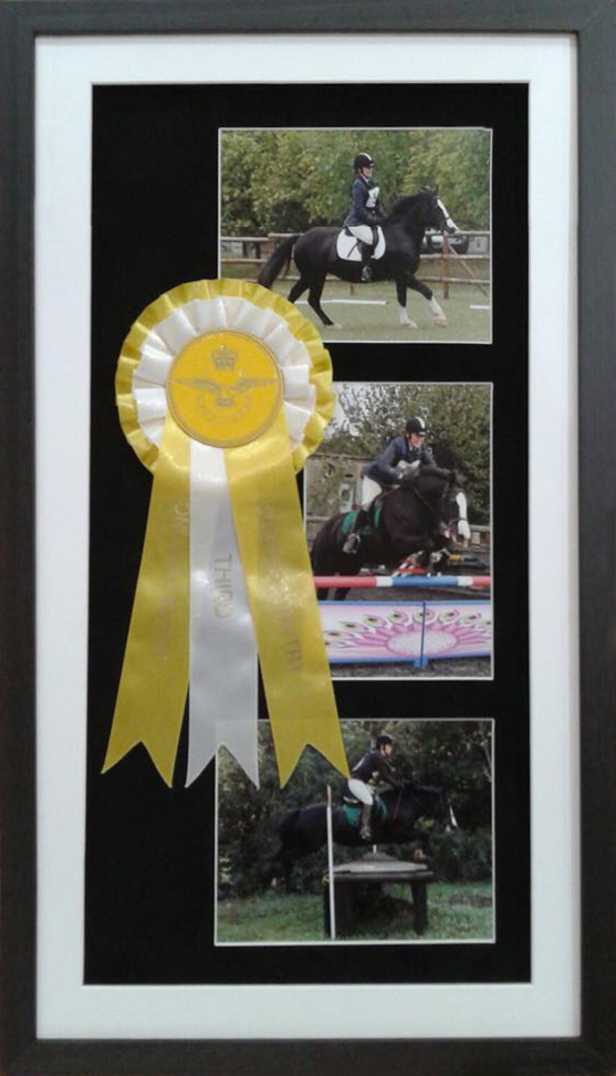 Framing Centre -Sample Framing Ribbons and Awards
