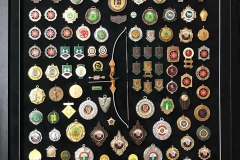 Framing Centre - Sample Framing Medals and Objects
